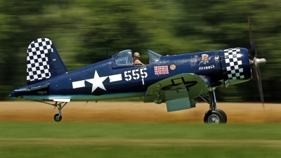 Photo ID 144535 by David F. Brown. Private F4U Inc Goodyear FG 1D Corsair, NX83JC
