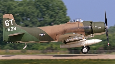 Photo ID 144767 by David F. Brown. Private Private Douglas A 1D Skyraider AD 4NA, N2AD