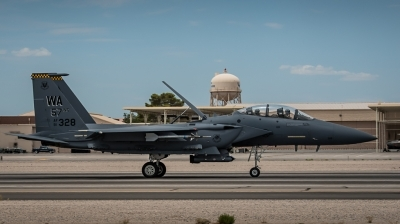 Photo ID 145004 by Steven Valinski. USA Air Force McDonnell Douglas F 15E Strike Eagle, 91 0328