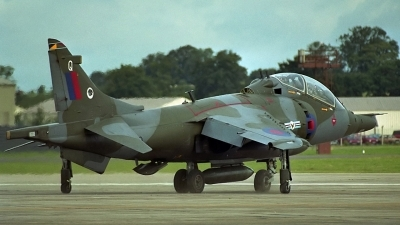 Photo ID 144760 by Peter Terlouw. UK Air Force British Aerospace Harrier T 4, ZD990