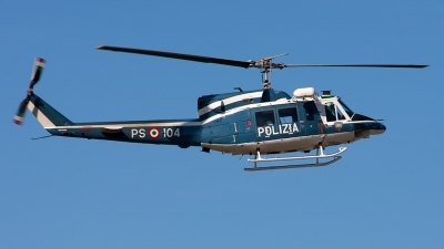 Photo ID 144871 by Roberto Bianchi. Italy Polizia Agusta Bell AB 212, MM81655