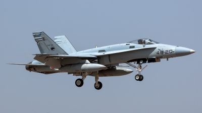 Photo ID 144944 by Bartolomé Fernández. Spain Air Force McDonnell Douglas F A 18A Hornet, C 15 92