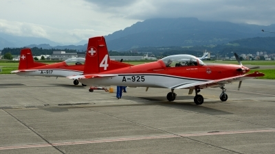 Photo ID 145342 by Martin Thoeni - Powerplanes. Switzerland Air Force Pilatus NCPC 7 Turbo Trainer, A 925