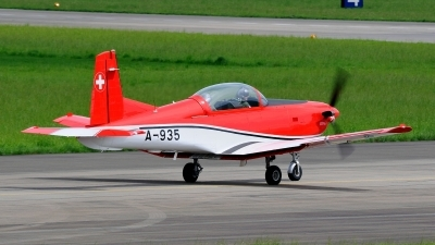 Photo ID 145341 by Martin Thoeni - Powerplanes. Switzerland Air Force Pilatus NCPC 7 Turbo Trainer, A 935