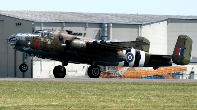 Photo ID 145003 by Jaysen F. Snow - Midwest Tail Chasers. Private Historic Flight Foundation North American B 25D Mitchell, N88972