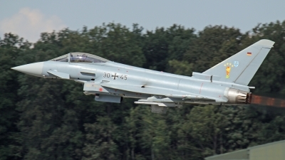 Photo ID 145240 by Thomas Wolf. Germany Air Force Eurofighter EF 2000 Typhoon S, 30 45