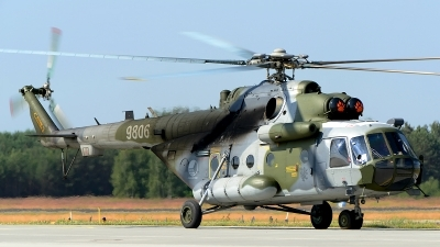 Photo ID 145243 by Stephan Franke - Fighter-Wings. Czech Republic Air Force Mil Mi 171Sh, 9806