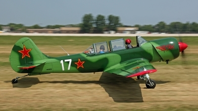 Photo ID 145329 by David F. Brown. Private Private Yakovlev Yak 52TW, N52DD