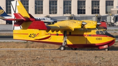 Photo ID 145498 by Jesus Peñas. Spain Air Force Canadair CL 215 T, UD 13 19