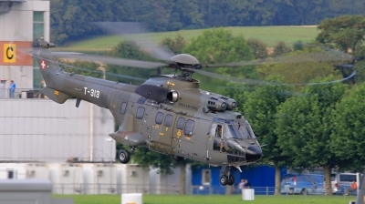 Photo ID 145563 by Radim Koblizka. Switzerland Air Force Aerospatiale AS 332M1 Super Puma, T 313