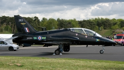 Photo ID 145520 by Jan Eenling. UK Air Force British Aerospace Hawk T 1A, XX263