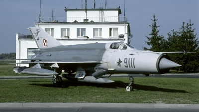 Photo ID 145676 by Marinus Dirk Tabak. Poland Air Force Mikoyan Gurevich MiG 21MF, 9111