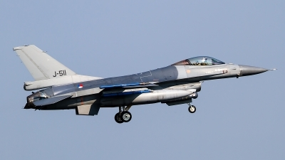 Photo ID 145687 by Alfred Koning. Netherlands Air Force General Dynamics F 16AM Fighting Falcon, J 511