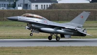 Photo ID 145731 by Rainer Mueller. Denmark Air Force General Dynamics F 16BM Fighting Falcon, ET 612