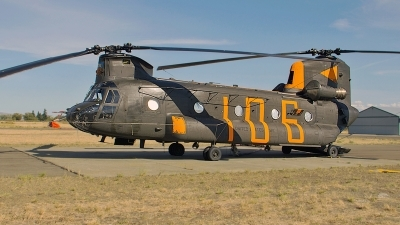 Photo ID 145977 by Aaron C. Rhodes. USA Army Boeing Vertol CH 47D Chinook, 87 00106