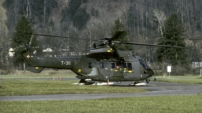 Photo ID 145883 by Joop de Groot. Switzerland Air Force Aerospatiale AS 332M1 Super Puma, T 311