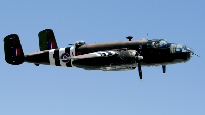 Photo ID 146009 by Jaysen F. Snow - Midwest Tail Chasers. Private Historic Flight Foundation North American B 25D Mitchell, N88972