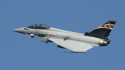 Photo ID 146499 by Stefano Tempestini. UK Air Force Eurofighter EF 2000 Typhoon FGR4, ZK343