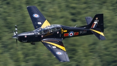 Photo ID 146085 by Ron Kellenaers. UK Air Force Short Tucano T1, ZF293