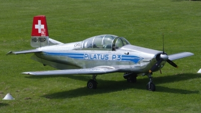 Photo ID 146214 by Roberto Bianchi. Private P 3 Flyers Pilatus P 3 05, HB RBP