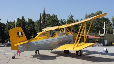 Photo ID 146344 by Kostas D. Pantios. Greece Air Force Grumman G 164 A Ag cat, 1547