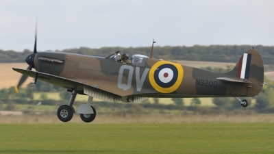 Photo ID 146309 by rinze de vries. Private Mark One Partners LLC Supermarine 300 Spitfire Mk1A, G CFGJ