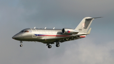 Photo ID 146640 by Manfred Jaggi. Czech Republic Air Force Canadair CL 600 2B16 Challenger 601 3A, 5105