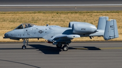 Photo ID 146722 by Russell Hill. USA Air Force Fairchild A 10C Thunderbolt II, 79 0113
