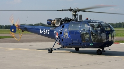 Photo ID 146793 by Jan Eenling. Netherlands Air Force Aerospatiale SA 316B Alouette III, A 247
