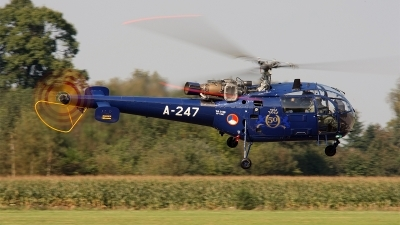 Photo ID 146931 by Jan Eenling. Netherlands Air Force Aerospatiale SA 316B Alouette III, A 247