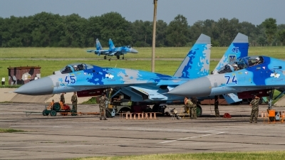 Photo ID 146881 by Antoha. Ukraine Air Force Sukhoi Su 27,