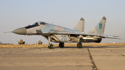 Photo ID 146942 by Chris Lofting. Ukraine Air Force Mikoyan Gurevich MiG 29 9 13, 20 BLUE