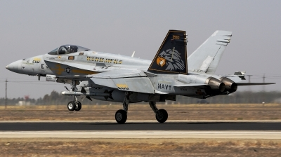 Photo ID 146994 by Mark G.. USA Navy McDonnell Douglas F A 18C Hornet, 163444