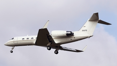 Photo ID 147099 by Carl Brent. USA Air Force Gulfstream Aerospace C 20H Gulfstream IV, 92 0375