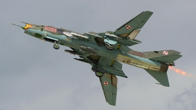 Photo ID 147201 by Stephan Franke - Fighter-Wings. Poland Air Force Sukhoi Su 22M4 Fitter K, 8308