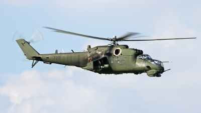 Photo ID 147286 by Tobias Ader. Poland Army Mil Mi 24V, 739