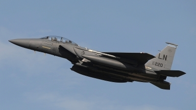 Photo ID 147375 by Peter Boschert. USA Air Force McDonnell Douglas F 15E Strike Eagle, 97 0220