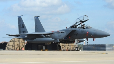 Photo ID 147552 by Peter Boschert. USA Air Force McDonnell Douglas F 15E Strike Eagle, 91 0605