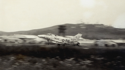 Photo ID 154410 by Robert W. Karlosky. USA Air Force North American F 100D Super Sabre, 55 3622