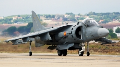 Photo ID 147714 by Lukas Kinneswenger. Spain Navy McDonnell Douglas EAV 8B Harrier II, VA 1B 37