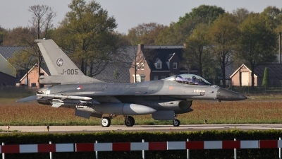 Photo ID 147834 by Rebecca Metkemeier. Netherlands Air Force General Dynamics F 16AM Fighting Falcon, J 005