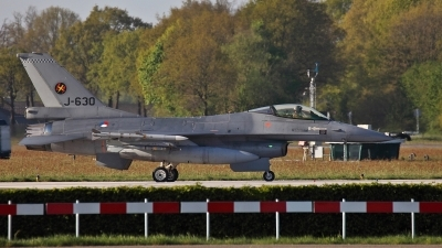 Photo ID 147835 by Rebecca Metkemeier. Netherlands Air Force General Dynamics F 16AM Fighting Falcon, J 630
