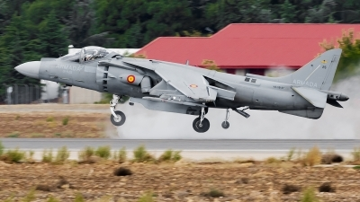 Photo ID 147960 by Alex van Noye. Spain Navy McDonnell Douglas EAV 8B Harrier II, VA 1B 37