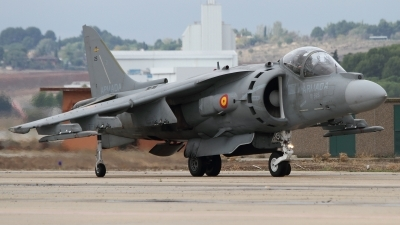 Photo ID 148006 by Javier Bozzino Barbudo. Spain Navy McDonnell Douglas EAV 8B Harrier II, VA 1B 37