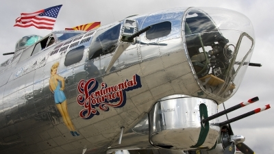 Photo ID 148002 by Alastair T. Gardiner. Private Commemorative Air Force Boeing B 17G Flying Fortress 299P, N9323Z