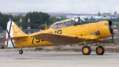 Photo ID 147996 by Jesus Peñas. Private Fundacion Infante de Orleans North American T 6G Texan, EC DUN