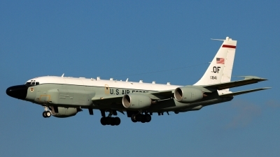 Photo ID 148089 by Manfred Jaggi. USA Air Force Boeing RC 135V Rivet Joint 739 445B, 64 14841