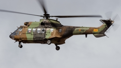 Photo ID 148205 by Alex van Noye. Spain Army Aerospatiale AS 532UL Cougar, HT 27 19