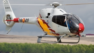 Photo ID 148178 by Alex van Noye. Spain Air Force Eurocopter EC 120B Colibri, HE 25 10
