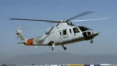 Photo ID 148190 by Joop de Groot. Spain Air Force Sikorsky S 76C, HE 24 7